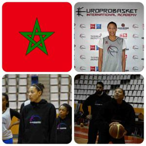 Europrobasket Female Karen Flagg Morocco