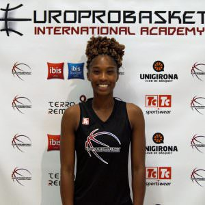 Europrobasket Female Brandy Broome Tryout Spain