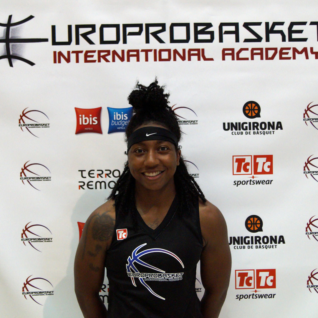 Europrobasket Player Ashley Brown on a tryout in Spain!