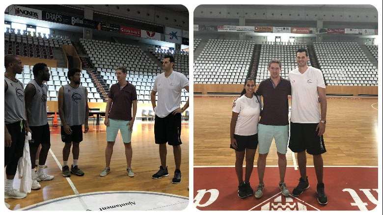 NBA Scout Visits Europrobasket Practices!