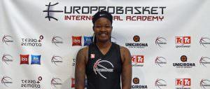 Europrobasket Karley Barnes Minnesota Barcelona Tryout