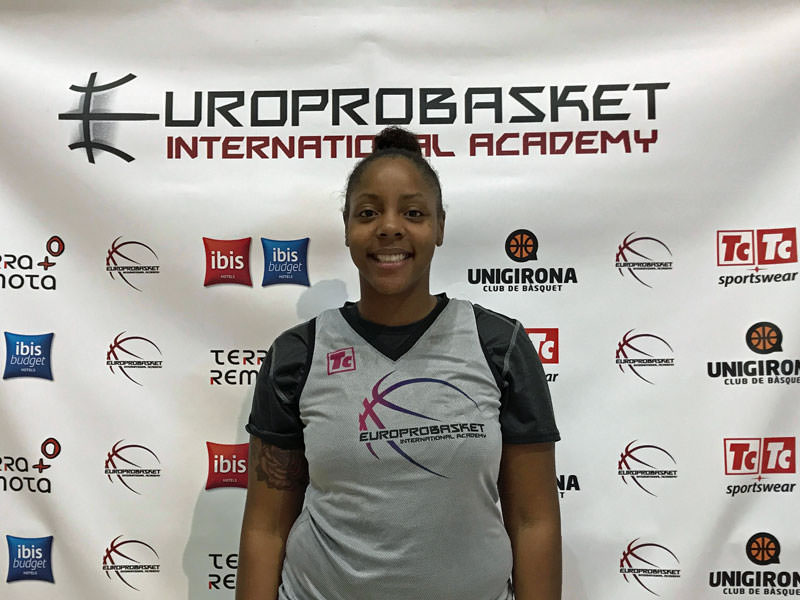 Europrobasket Player Carla Batchelor on tryout 🇪🇸!