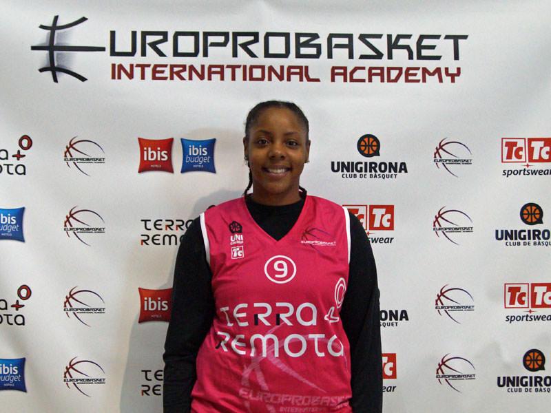 Europrobasket player Carla Batchelor on Tryout in Castilla y Leon 🇪🇸!