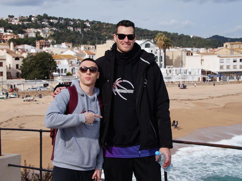 Europrobasket player Zach Peck on tryout near Valencia ??!