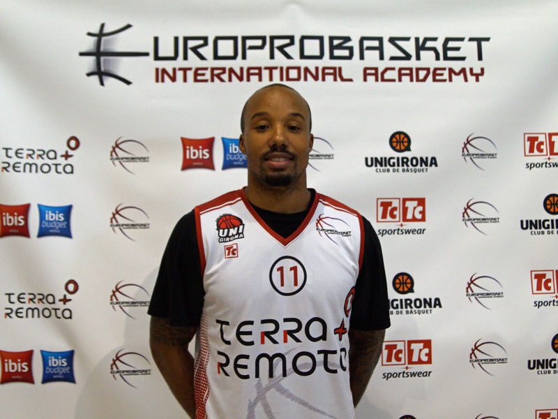 Europrobasket player Eddie Days on Tryout in Madrid ??!