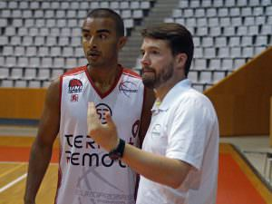 Europrobasket Daniel Nelson and Christopher de Souza
