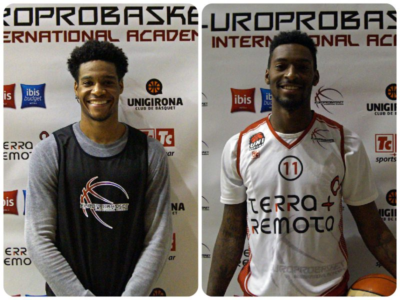 Two Europrobasket Players on Tryout near Barcelona ??!