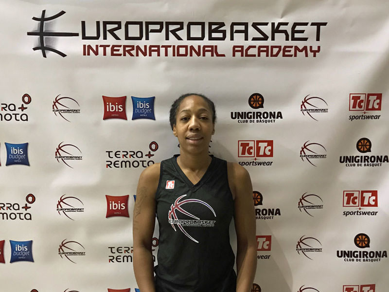 Europrobasket player Tashawna Higgins on tryout with Lebanese 1st Division Team 🇱🇧!