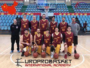 Europrobasket Team Spain China Tour