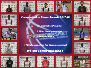 Europrobasket Player Awards 2017-18