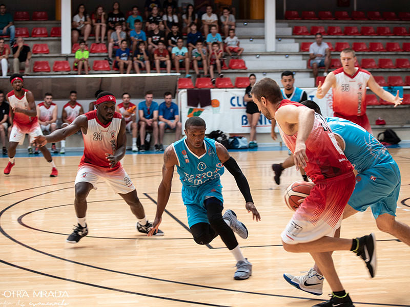Europrobasket player Anthony Hodge on a tryout South of Valencia ??!