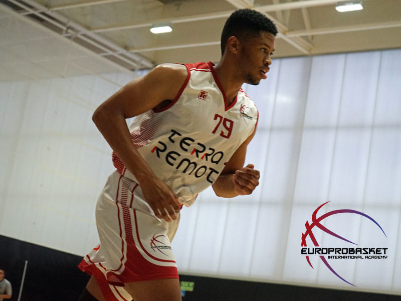Europrobasket player Montae Harris on Tryout North of Valencia 🇪🇸!