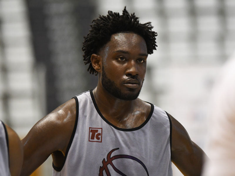 Europrobasket's European Summer League player Don Stephens on a tryout  in Murcia ??!