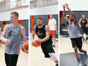 Three Europrobasket Players on Tryout
