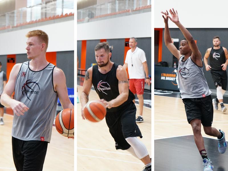 Three Europrobasket players on Tryout near Valencia ??!