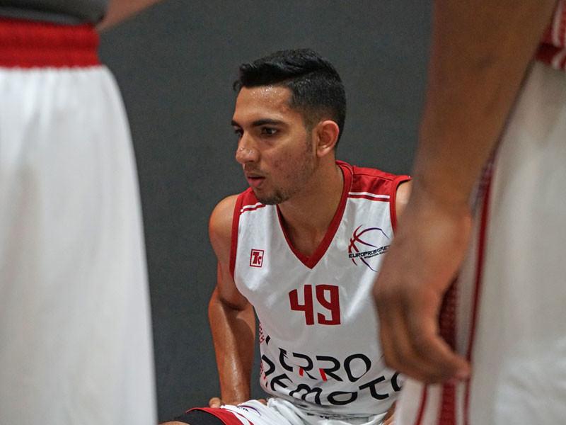 Europrobasket player Shaun Aranjo on tryout in Catalunya 🇪🇸!