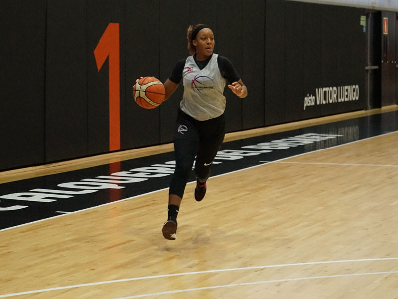 Europrobasket Player Taneka Rubin on Tryout with Portuguese Team in Top Division 🇵🇹!