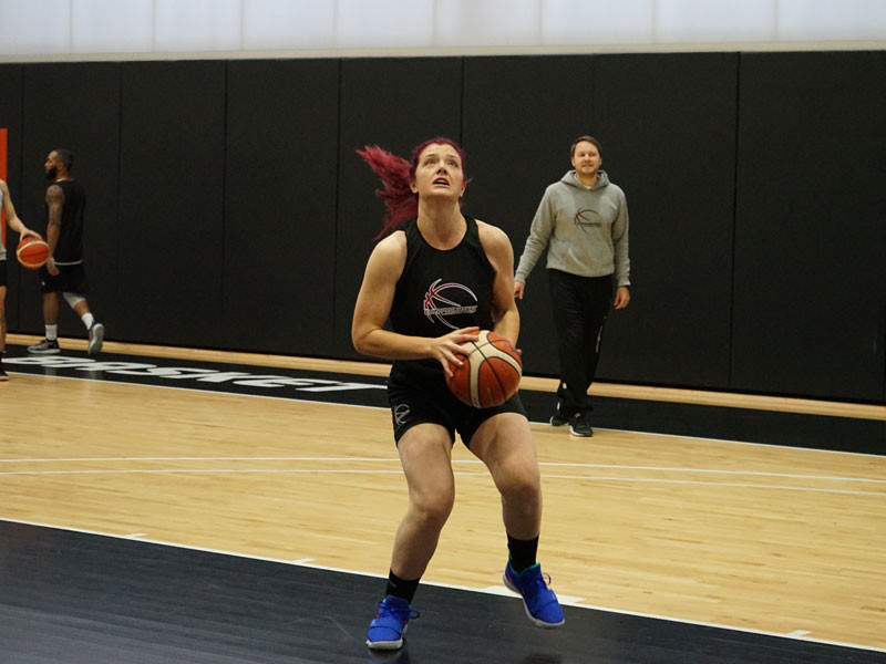 Europrobasket Player Lauren Varney on tryout in 1st Division Portugal 🇵🇹!