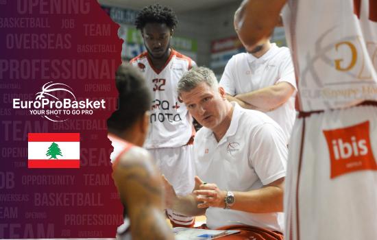 Coaching Opportunity Basketball Lebanon