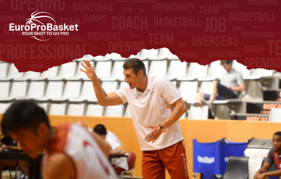 European Summer League Coach Opportunity