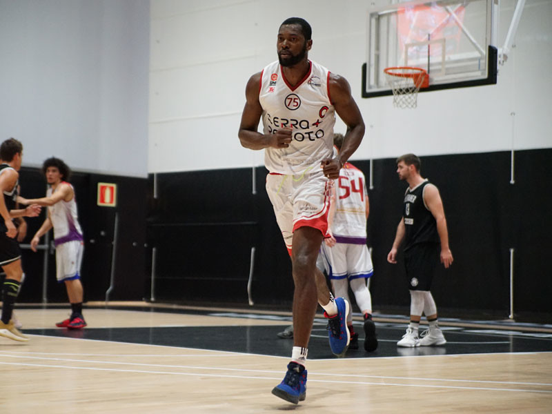 Europrobasket player Francois Affia, former Eurocup player, on tryout in Spain EBA 🇪🇸!