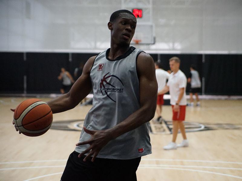 Europrobasket player Marvin Ngonadi on tryout in Spain 🇪🇸!