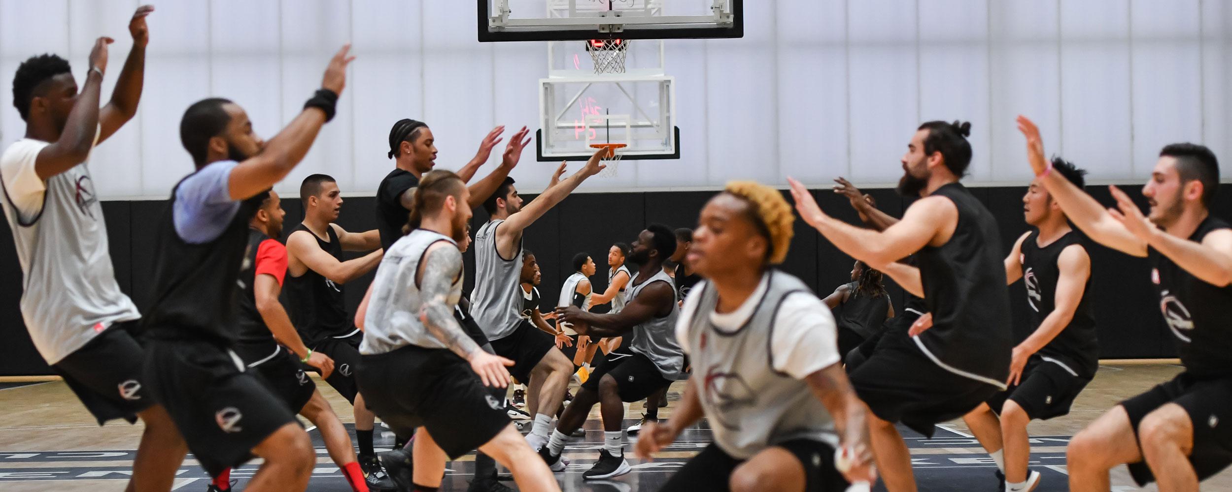 Pro Basketball Tryouts