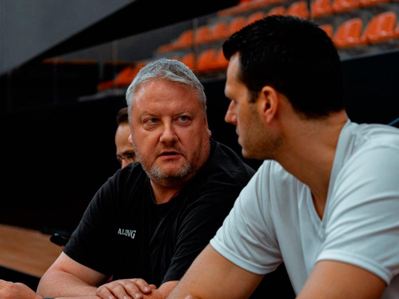 Stephen Voelkel – German GM and Professional Coach visits Europrobasket