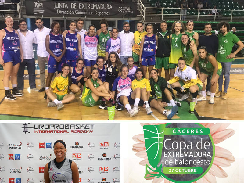 Europrobasket player Taneka Rubin won the Copa de Extremadura🏆!