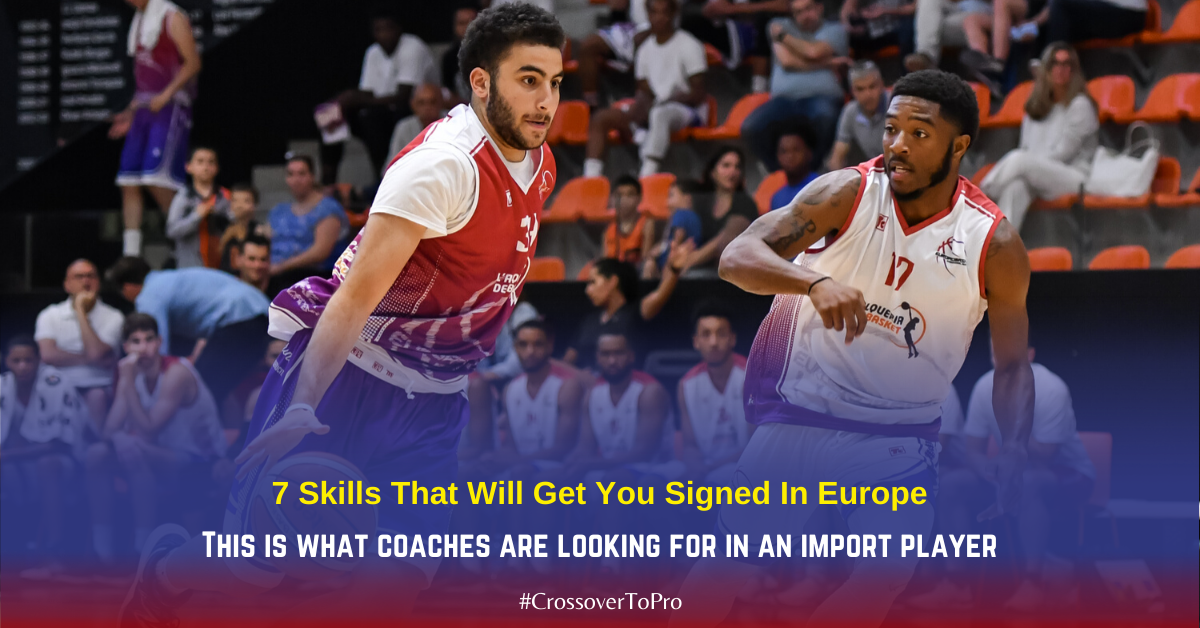 Playing professional basketball in europe