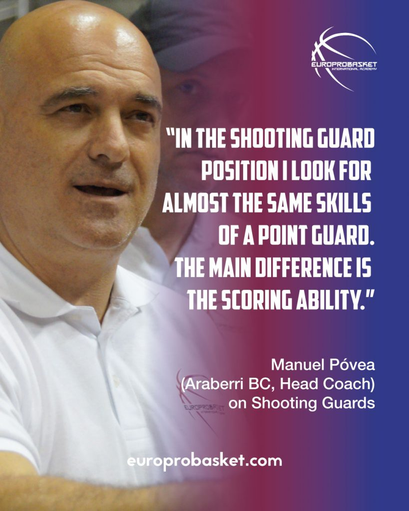 manuel povea on shooting guards