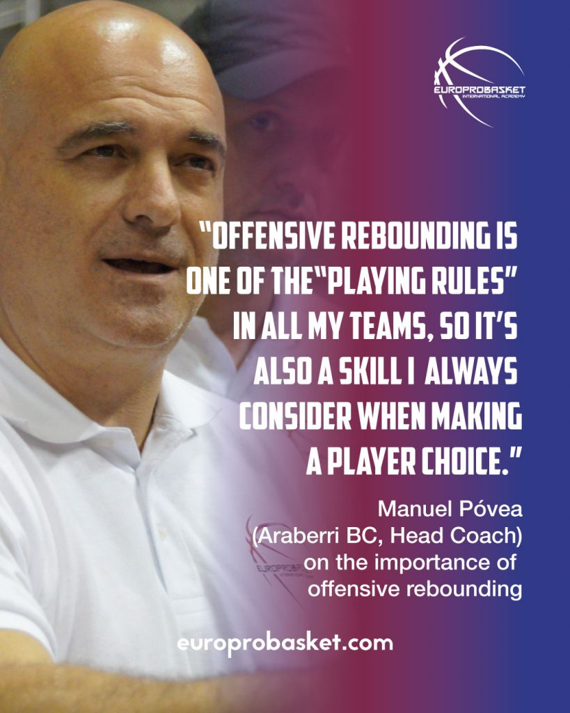 manuel póvea about offensive rebounding in import players