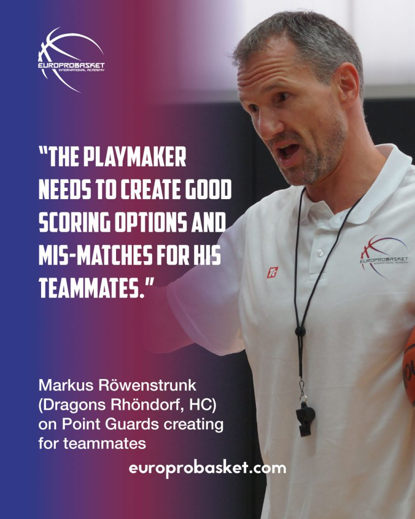markus rowenstrunk on point guards
