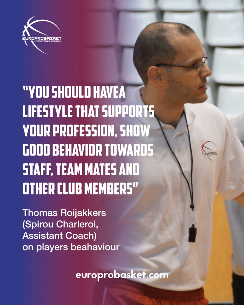 thomas roijakkers on import players behaviour