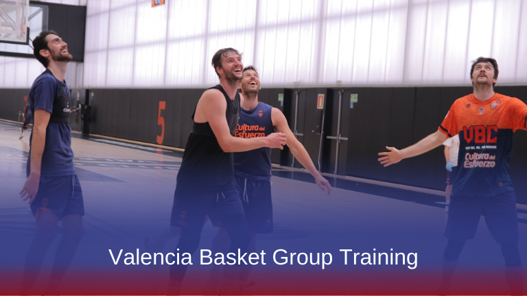 Valencia Basket Group Training