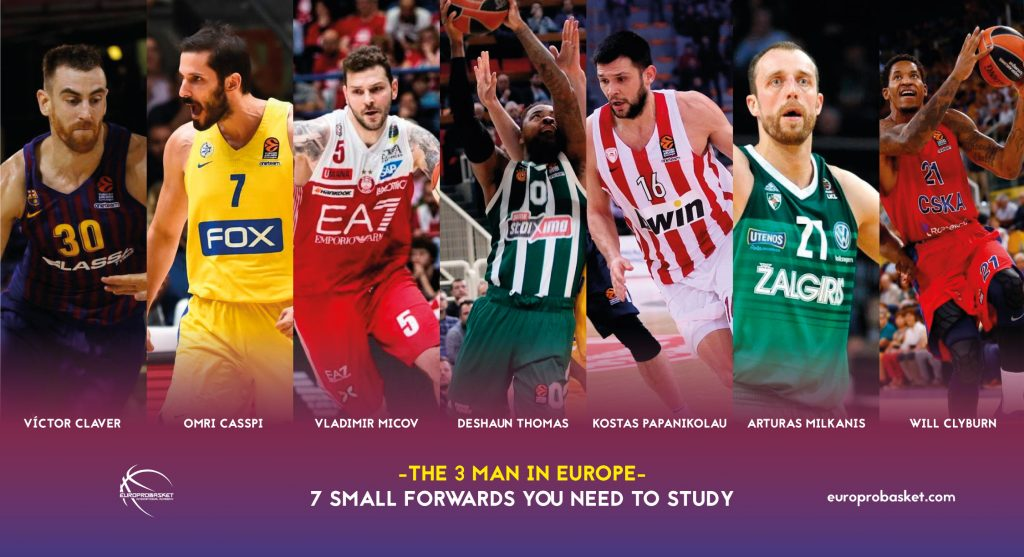 7 small forwards you need to know to play in europe