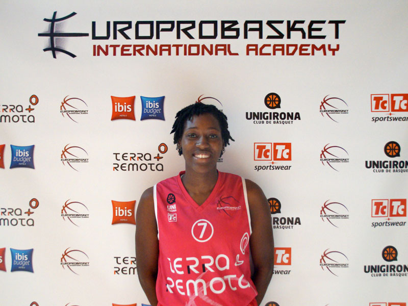 Judy Jones Basketball Europrobasket