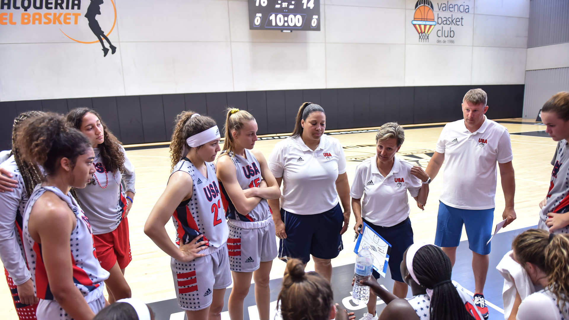 Grassroots Basketball Coaches