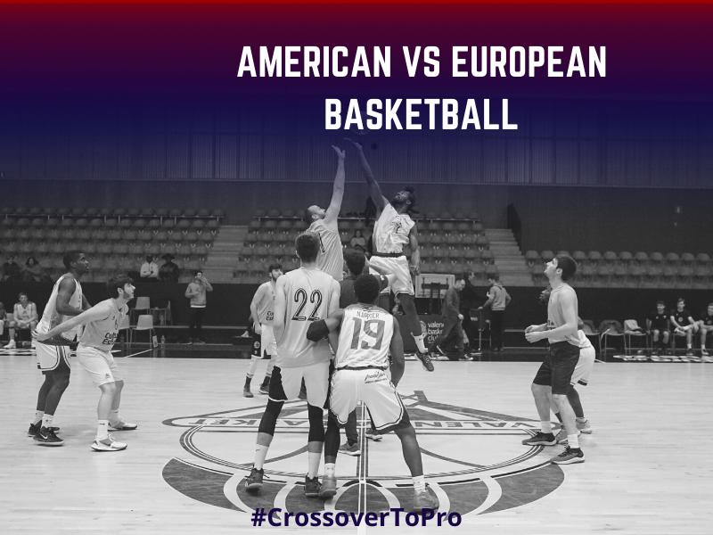 American vs European Basketball
