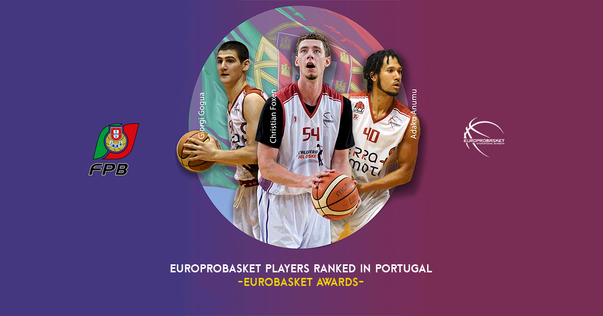 europrobasket players ranked in portugal