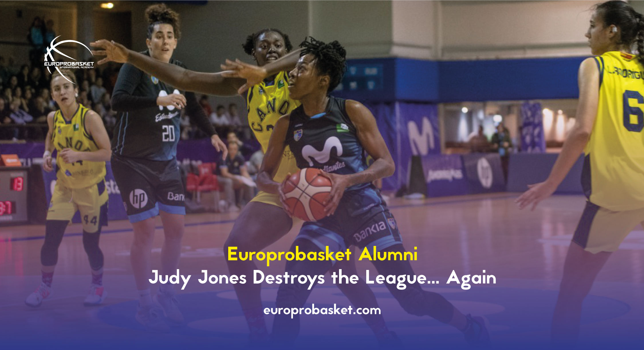 Judy Jones Destroys the League… Again
