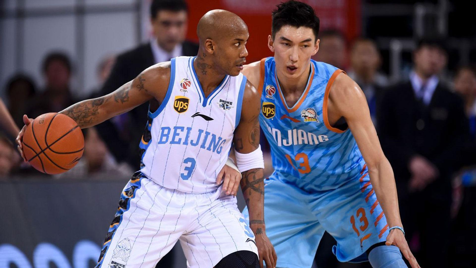 Stephon Marbury China Basketball League CBA