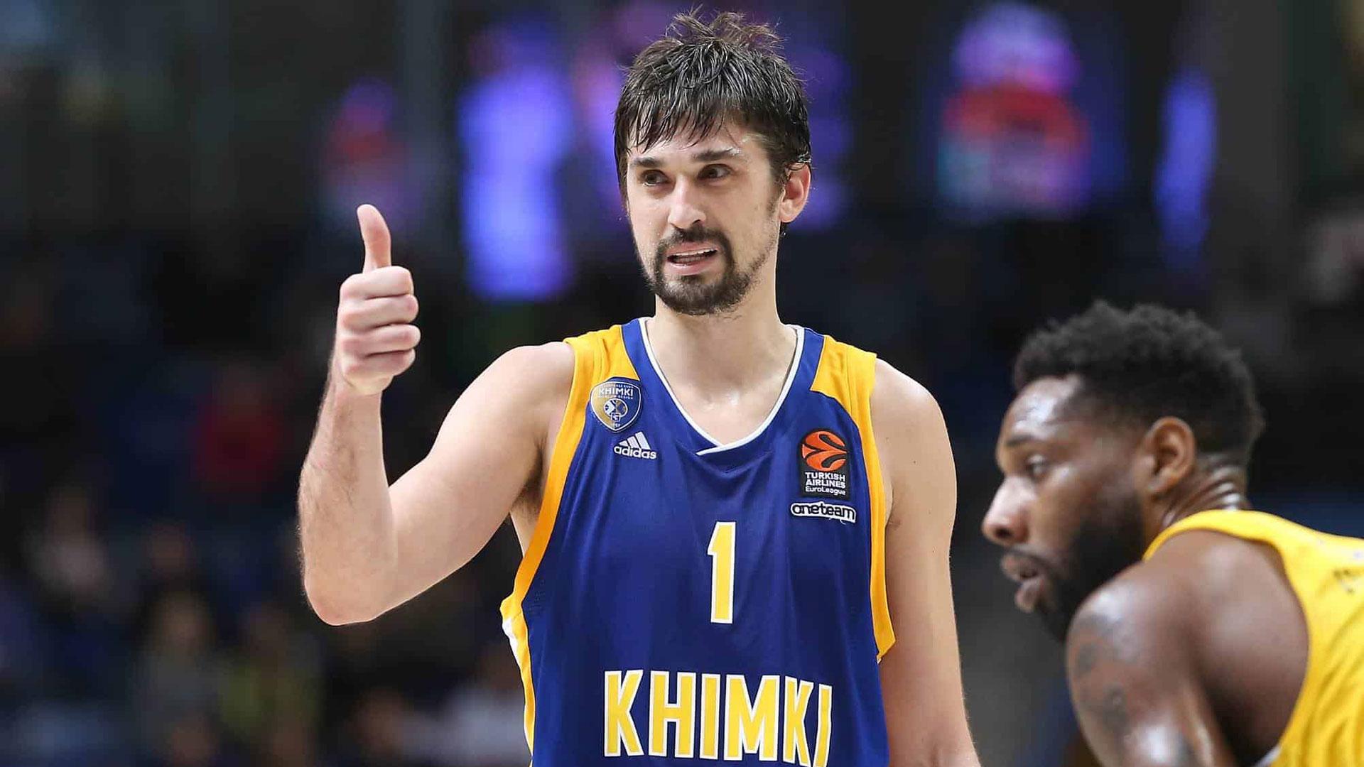 Alexey Shved Russia Basketball League