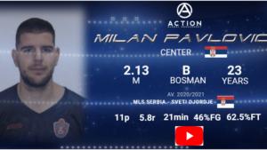 MILAN PAVLOVIC Europrobasket