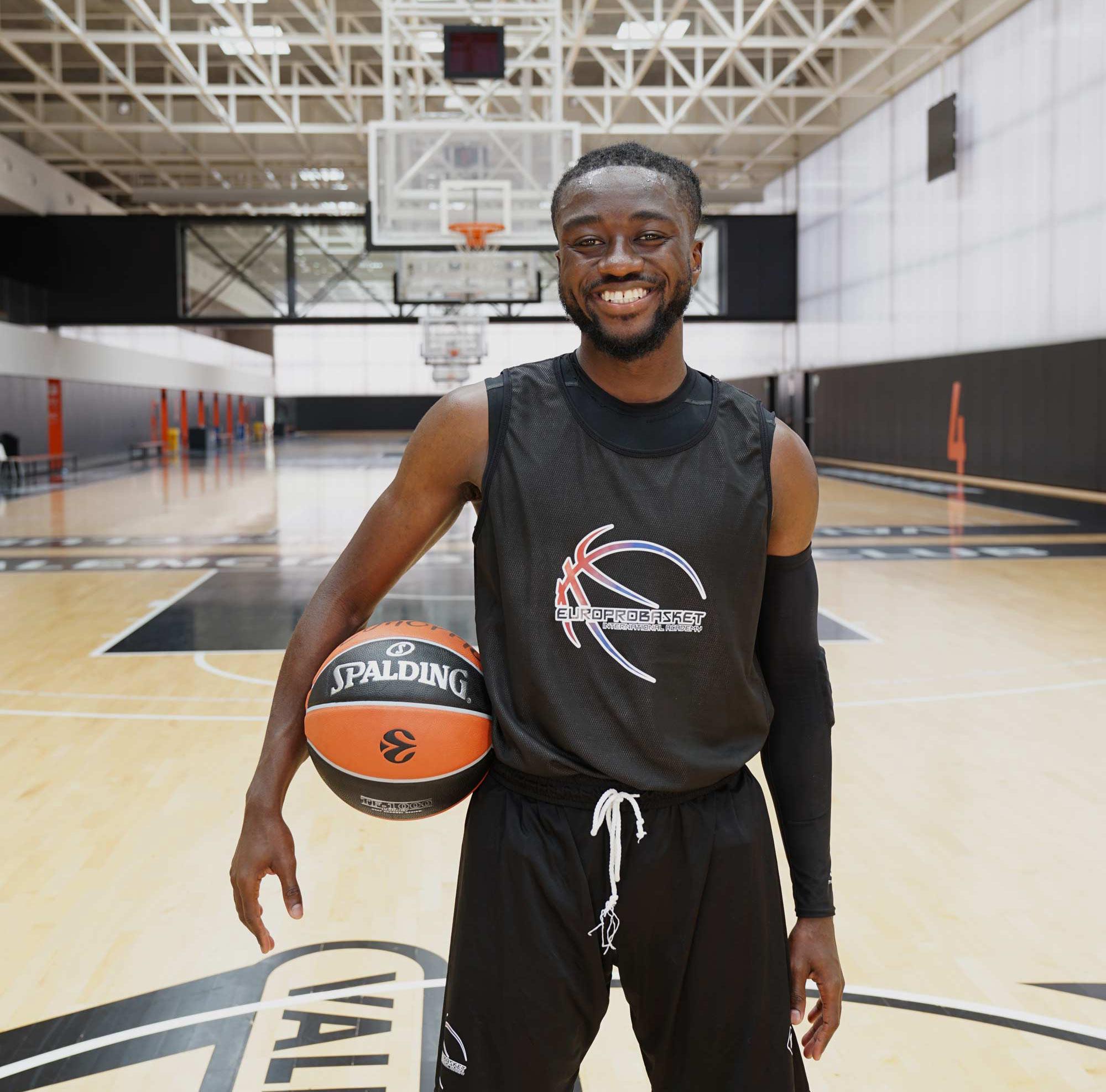 James Agyeman europrobasket basketball