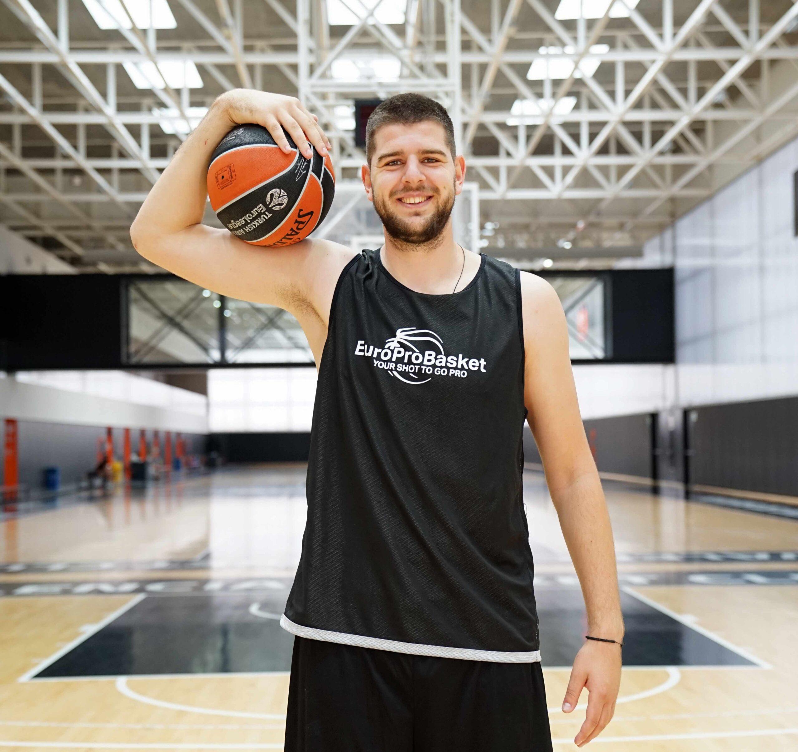 EuroProBasket Spain Milan Pavlovic