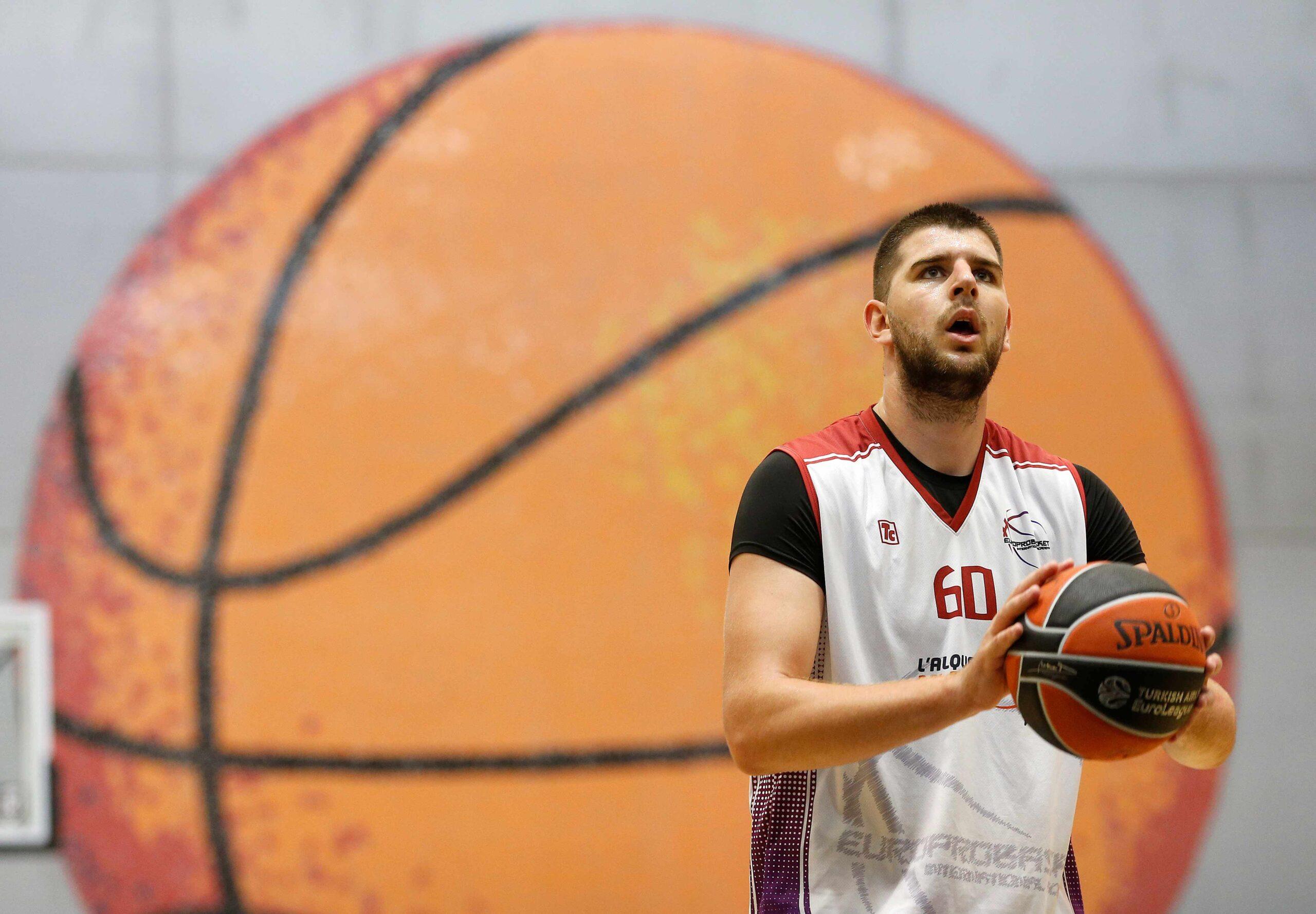 Milan Pavlovic EuroProBasket Spain