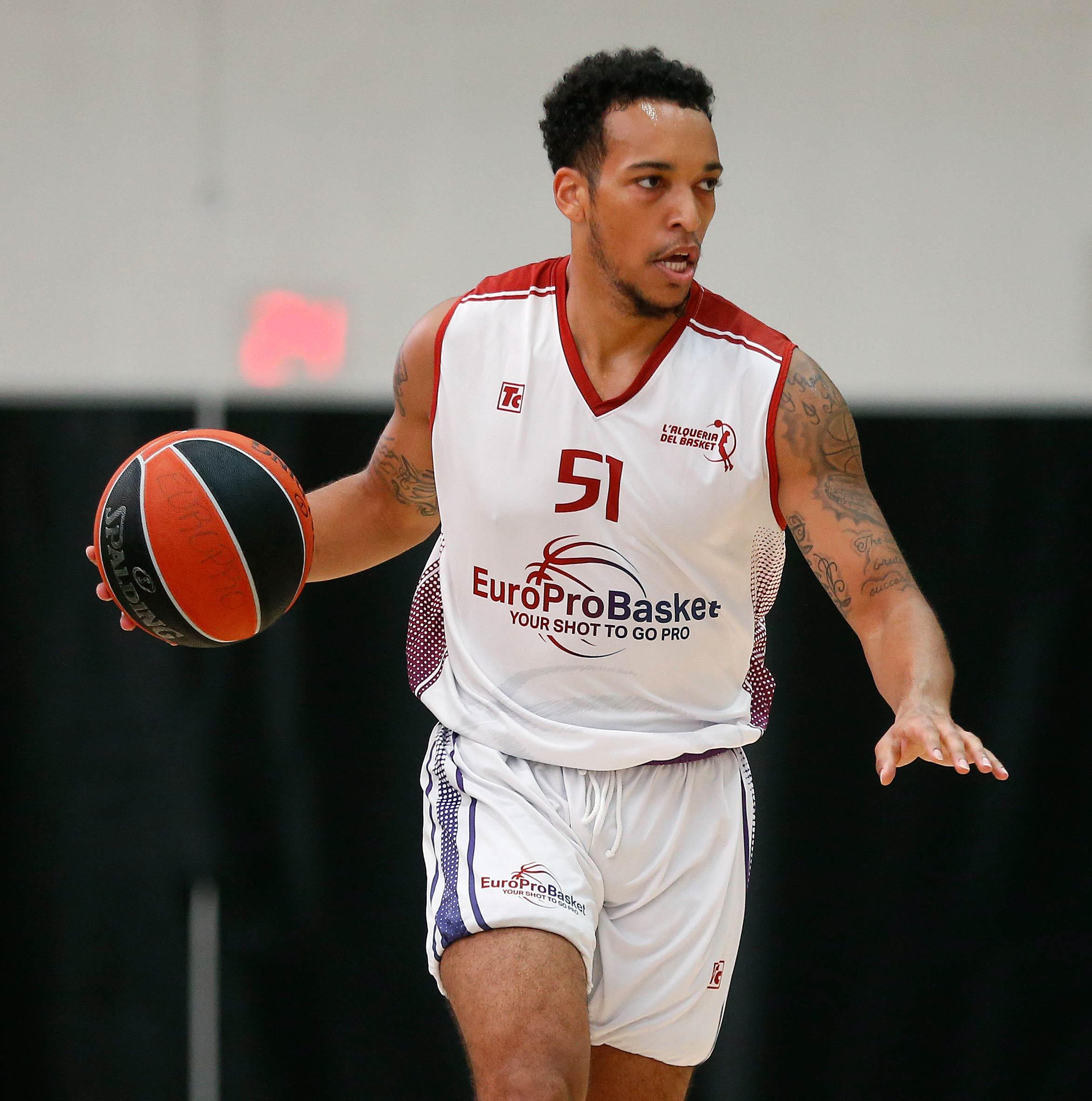 Europrobasket D'Ondre Stockman Valencia