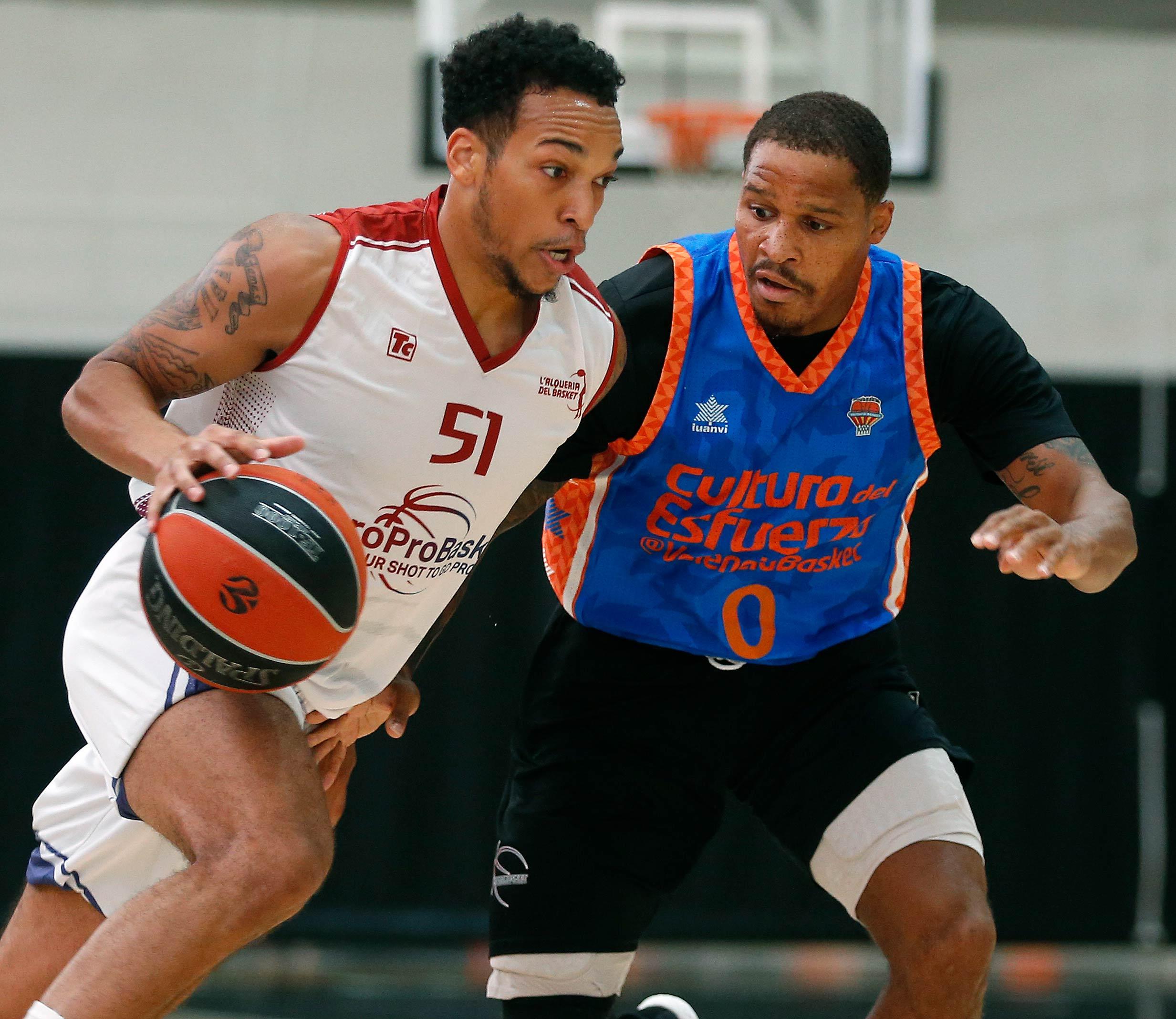 Europrobasket D'Ondre Stockman Valencia Basket