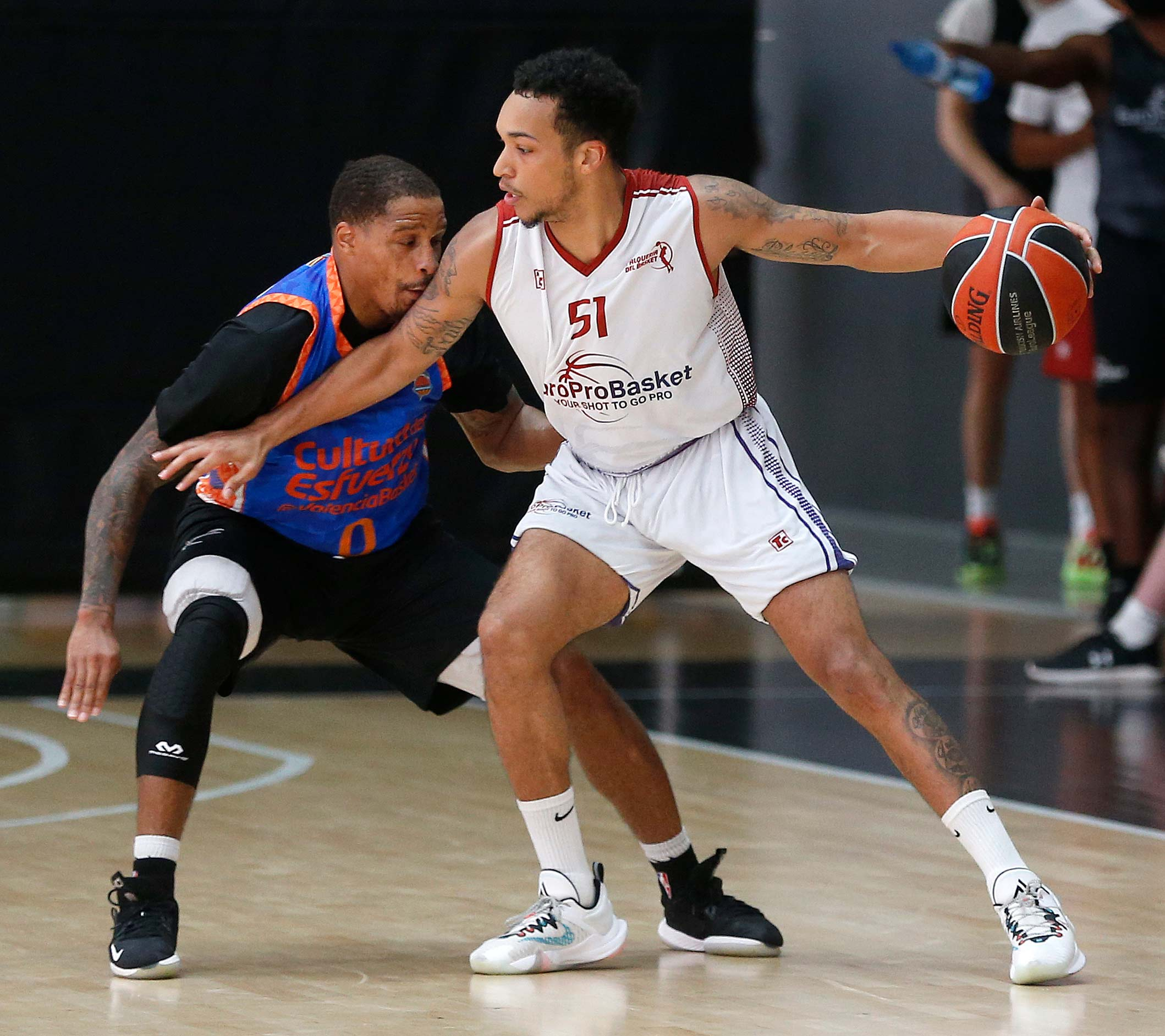 D'Ondre Stockman Basketball Spain